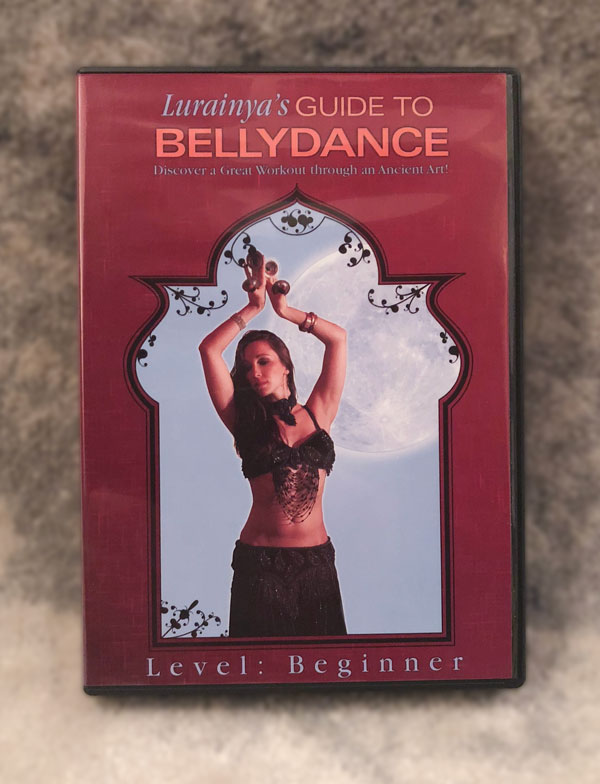 Lurainya Koerber's Guide to Bellydance instructional DVD closeup